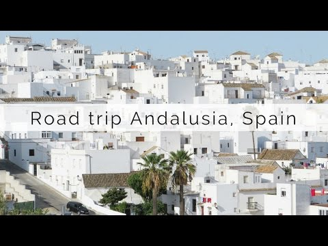 Road trip Andalusia, Spain through the white villages | Map of Joy