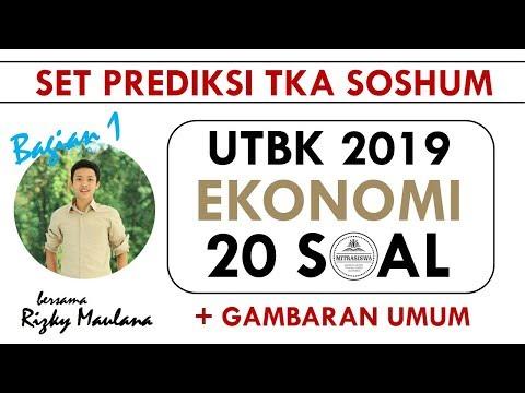 UTBK 2019 I TKA SOSHUM I EKONOMI (Bagian 1)