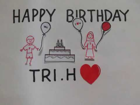 Happy Birthday Tri.H