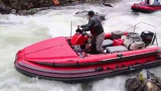 ЖОРСТКИЙ ШТУРМ! БЕЗ КУПЮР! #12 Подорож на водометних човнах і рибалка на гірських річках Сибіру
