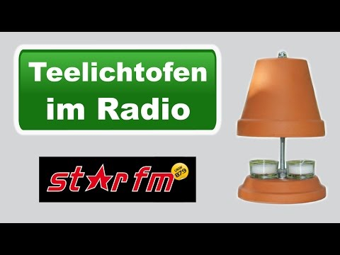 Teelichtofen im Radio 2 - Interview mit Radio Berlin Star FM 87.9