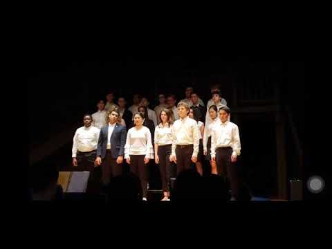 Boston Trinity Academy Upper School Choir - A Million Dreams
