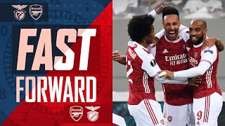 FAST FORWARD | Arsenal vs Benfica | The sweat, tears, tweets, drama, reactions & more!