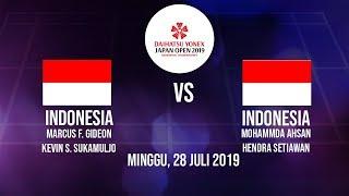 Jadwal Siaran Final Japan Open 2019 Pertandingan Ganda Putra