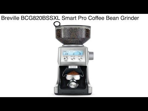 Breville Smart Coffee Bean Grinder    Breville BCG820BSSXL Coffee Grinder Review