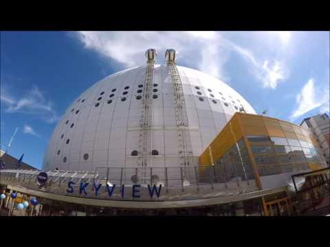 Stockholm Gezi Notları 8 / Skyview, Kuş Bakışı Stockholm