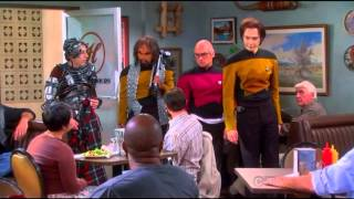 The guys entered the restaurand (jokes on you) The Big Bang Theory