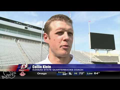 Former K-State star QB Collin Klein is back with the Wildcats