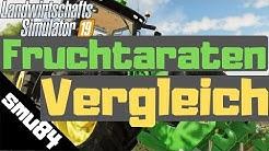 LS19 - PS4 - Fruchtarten Vergleich - Weizen, Gerste & Hafer
