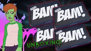 Unboxing FOUR Bam Box Horrors! | THE GHOULOG