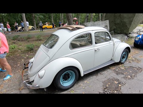 Frog Rock 2019 : Vw Nut 1967 & I take a Karmann Ghia to the Volkswagen show in CT.
