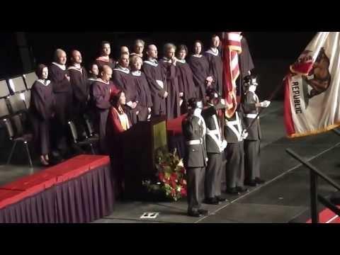 ALHS Class of 2013 Graduates Walking In
