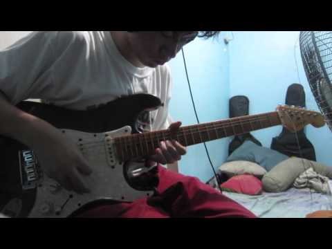 Lips Of An Angel - Hinder (Guitar Solo Cover)