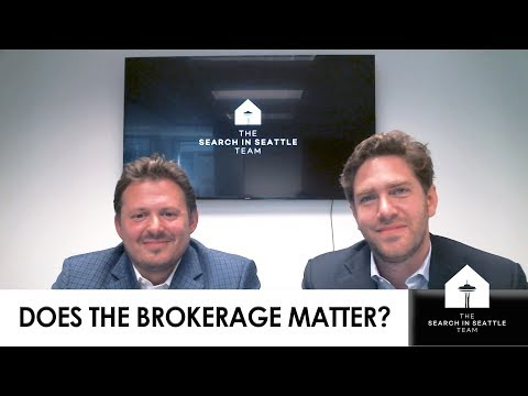The Search in Seattle Team: What Is the True Value of a Brokerage?
