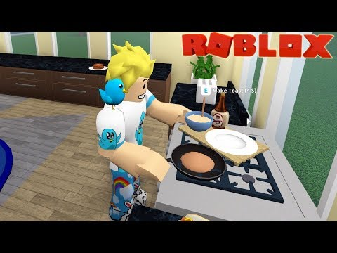 My Morning Routine in Roblox / Bloxburg Roleplay / Gamer Chad