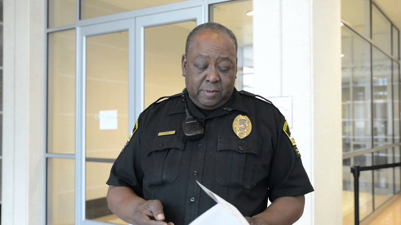 employee highlight security officer byron street youtube