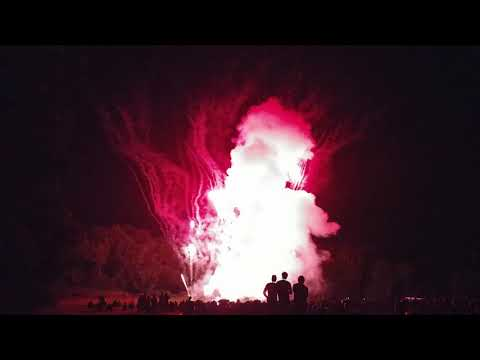 Best 4K UHD Footage of Mt  Carmel Feast Fireworks in Berkeley Heights Garden State Fireworks 7-15-17