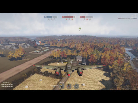 Crazy Heavy Plane Match Over 10K Exp | Unedited | Heroes and Generals