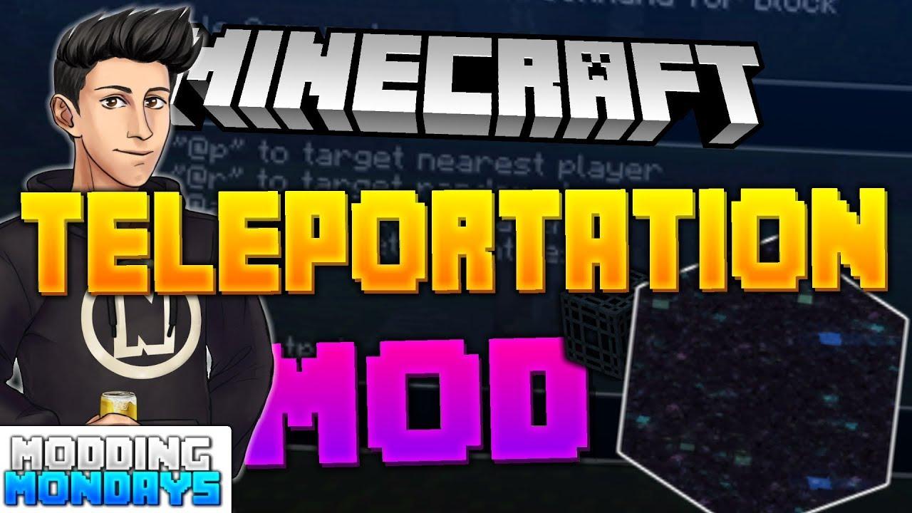 Minecraft ConsolePEJava Teleportation Mod Modding Mondays - Minecraft player teleport mod