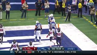 Eric Ebron One Handed TouchDown Catch Colts Vs Texans