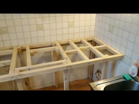 Как самому сделать столешницу для кухни своими руками