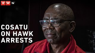 Eyewitness News reporter Theto Mahlakoana sat down with Cosatu general secretary Bheki Ntshalintshali ahead of the labour union's national strike. Here they discuss the arrests of the seven suspects linked to the Free State asbestos project. #Cosatu #FreeStateAsbestos #StateCapture