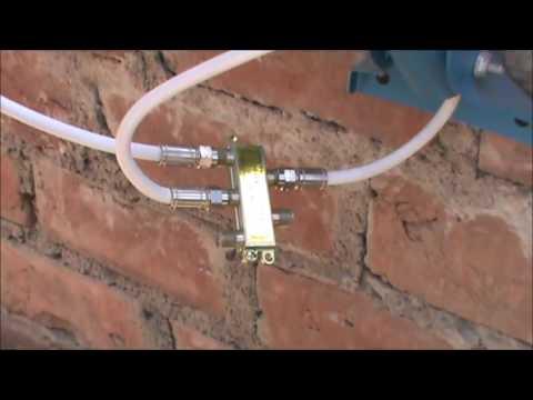 Como Instalar Salidas Adicionales Para Cable Satelital Youtube