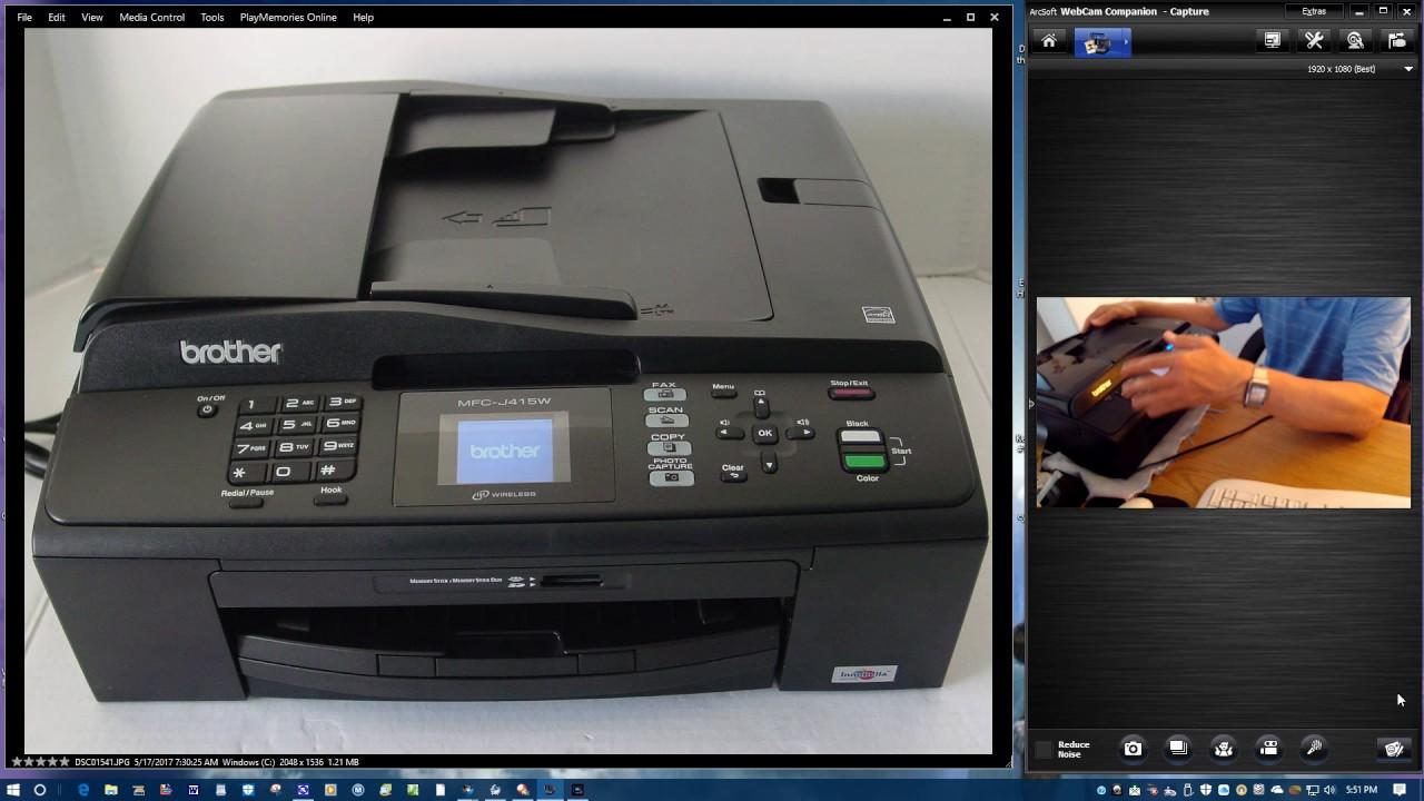 Brother MFC-J415W Scanner Treiber Herunterladen