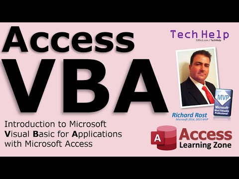 Microsoft Access Intro to VBA Programming - YouTube