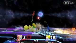 NCR 2015 - Smash 4 - Pool 8: Soulimar (Olimar) vs SuperOven (Luigi/Yoshi)