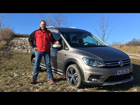 vw caddy alltrack 2016 tdi allrad 4motion test. Black Bedroom Furniture Sets. Home Design Ideas