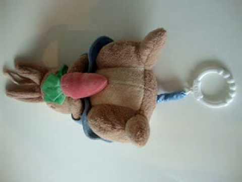 Beatrix Potter's Peter Rabbit Musical Crib Plush Toy