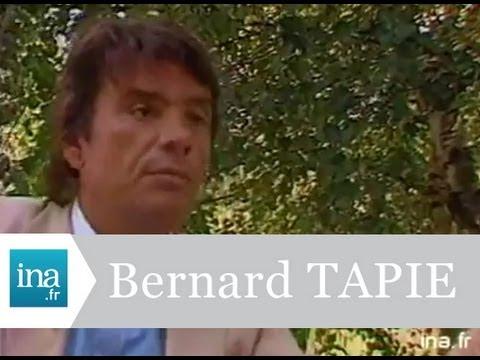 Portrait Bernard Tapie sauveteur d'entreprises en difficultés - Archive vidéo INA