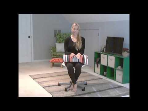 Beginner chair yoga for type 2 diabetics