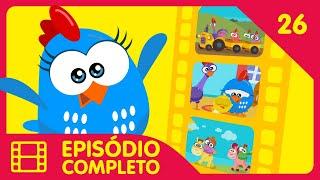 Galinha Pintadinha Mini - Episódio 13 Completo - 12 min