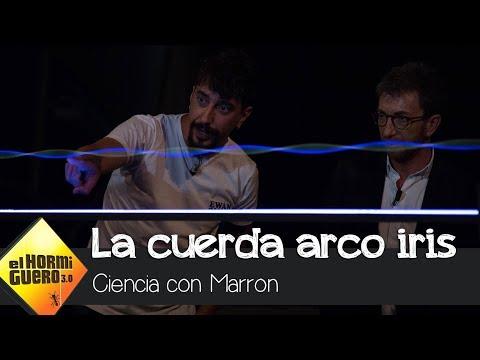 La cuerda arco iris de Marron ilumina el plató - El Hormiguero 3.0