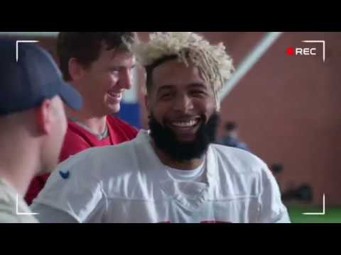 Giants Super Bowl Commercial Behind-the-scenes