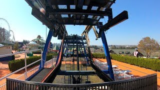 Ultra HD 2160p60 Free fall Front row onride POV ◇Official website h...