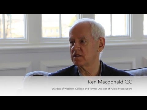 Free Speech Debate interview with Ken Macdonald