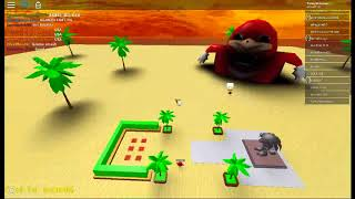 ANOTHER UGANDAN KNUCKLES GAME ON ROBLOX