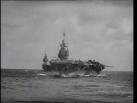 Eastern Fleet: USS Saratoga with HMS Illustrious