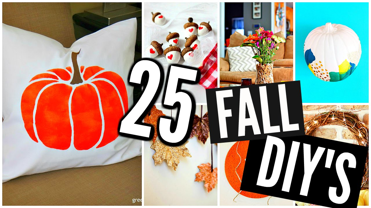 25 Diy Fall Room Decor Projects Crafts 2016 2017
