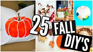25 Diy Fall Room Decor Projects & Crafts! 2016-2017