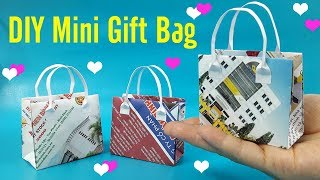 How to make a paper Bag? DIY crafts: Paper GIFT BAG (Easy)| Liam Channel