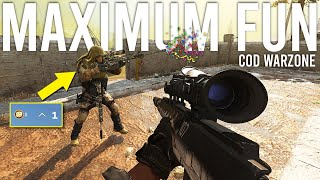 Call of Duty Warzone Maximum Fun
