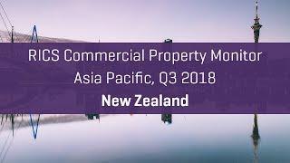 30-second summary: RICS Commercial Property Monitor, Q3 2018, New Zealand
