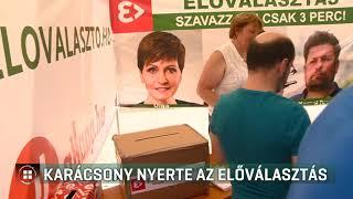 Karácsony Gergely lesz a kihívó, ő nyerte az ellenzéki előválasztást 2019-06-26