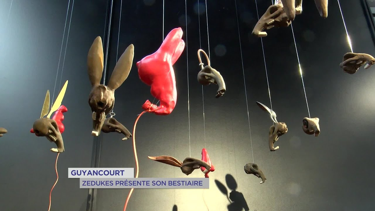 Yvelines | Guyancourt : Zedukes présente son bestiaire