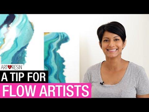 A Resin Flow Art Tip