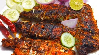 Spicy Mackerel Fry | Kerala Fish/Ayila Varuthathe | Masala Fish Fry  | By Wow Healthy Desi Food #